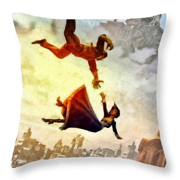 If You Fall Throw Pillow