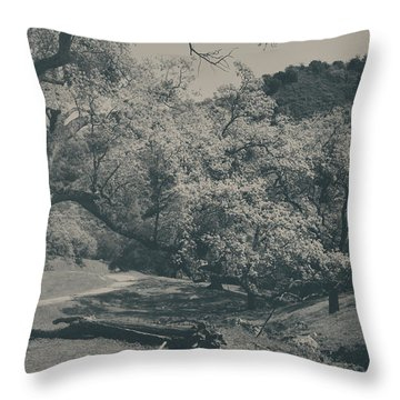 If You Get Lonely Throw Pillow by Laurie Search