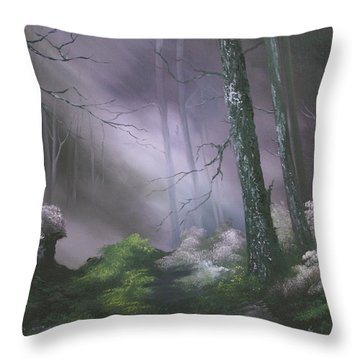 If You Go Down In The Woods Today ? Throw Pillow