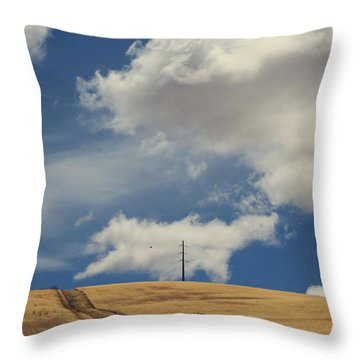 If You Wanna Run Away Throw Pillow by Laurie Search