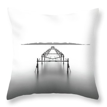 Mediterranean Sea Throw Pillows