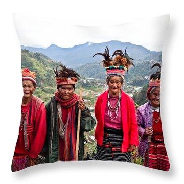 Ifugao Throw Pillow