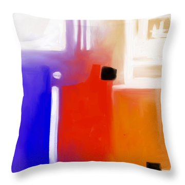 Ignite. Throw Pillow