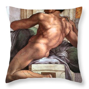 Ignudo Number One Of 1511 Throw Pillow