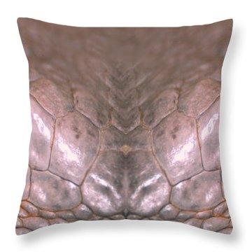 Iguana Eyes Throw Pillow