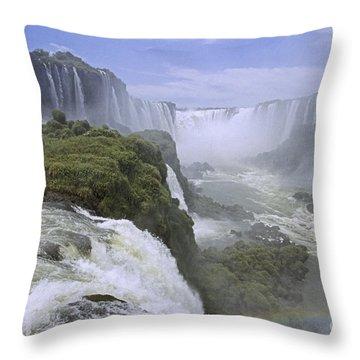 Iguazu Falls 1 Throw Pillow