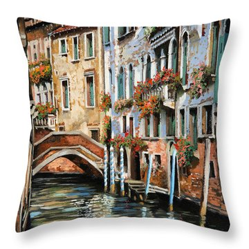 Il Ponte E I Pali Throw Pillow