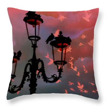 Il Volo Throw Pillow by Micki Findlay
