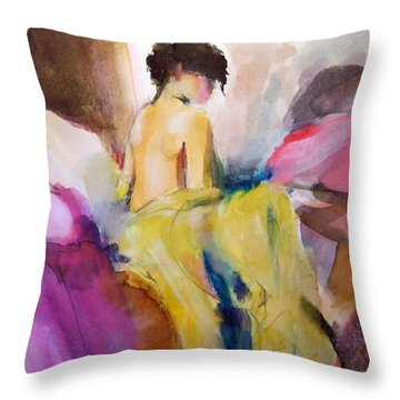 Ilda From Innsbruck Throw Pillow