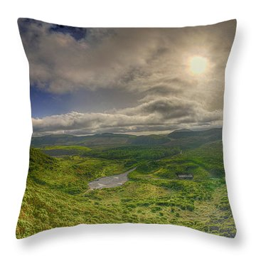 Ilha Terceira @ Azores Throw Pillow