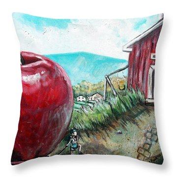 Ill Be The Teachers Pet For Sure Throw Pillow by Shana Rowe Jackson