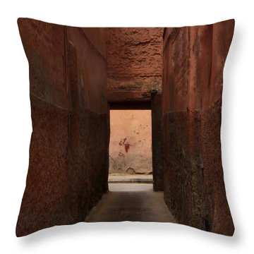 I'll Meet You Further On Up The Road.. Throw Pillow by A Rey