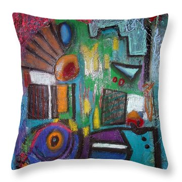 Illogical Throw Pillow by Venus