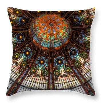 Illuminating Throw Pillow by Douglas J Fisher