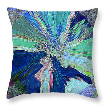 Illumination In Training Throw Pillow