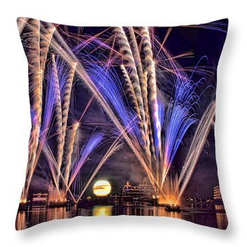 Illuminations-1 Throw Pillow
