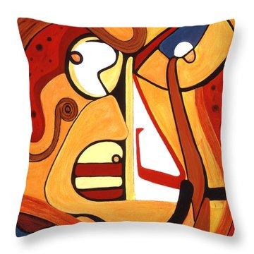 Illuminatus 2 Throw Pillow