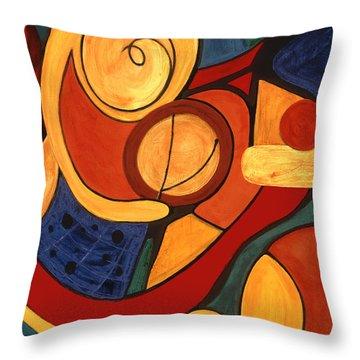 Illuminatus 3 Throw Pillow