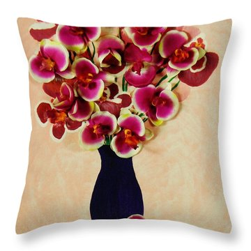 Illusion Throw Pillow by Celeste Manning