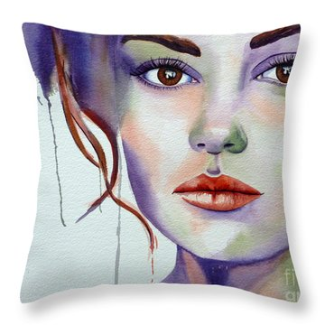 No Illusions Throw Pillow