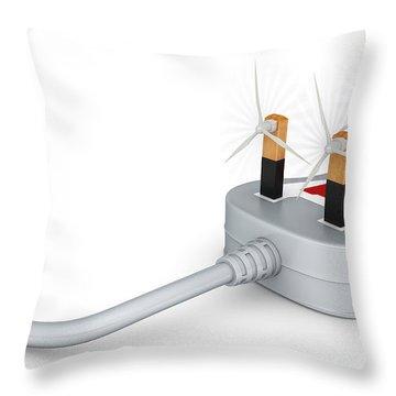 Energy-saving Throw Pillows