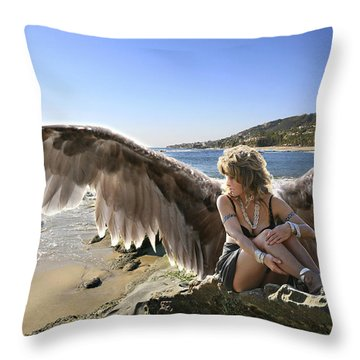 I'm A Witness To Your Life Throw Pillow