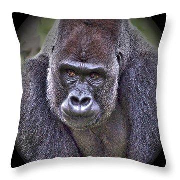 I'm Boss Throw Pillow