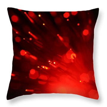 I'm Burning For You Throw Pillow