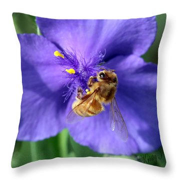 I'm Busy Throw Pillow
