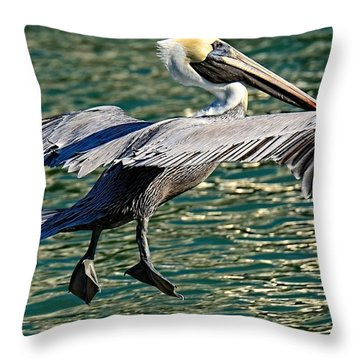 I'm Coming In Throw Pillow by Pamela Blizzard