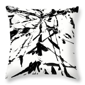 I'm Here Throw Pillow by Jacqueline McReynolds