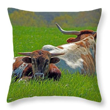 Throw Pillow featuring the photograph I'm Just A Baby by Lynn Sprowl
