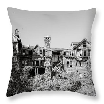 I'm Not What I Used To Be Throw Pillow by Carol Lynn Coronios