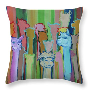 I'm So Happy You Came Throw Pillow