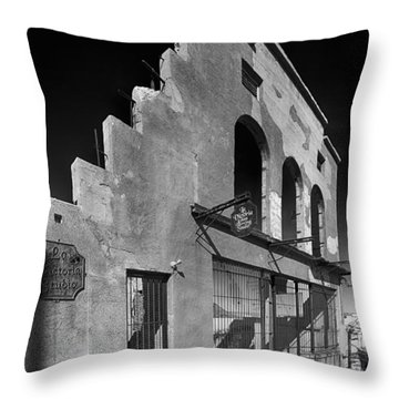 Im Still Standing Jerome Black And White Throw Pillow by Scott Campbell