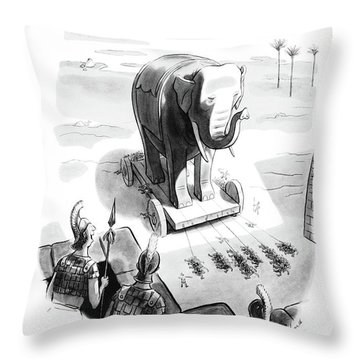 I'm Sure It's All Right. It's A Horse Throw Pillow