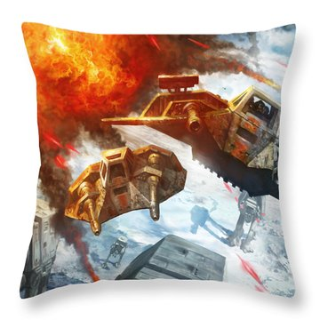 I'm With You Throw Pillow