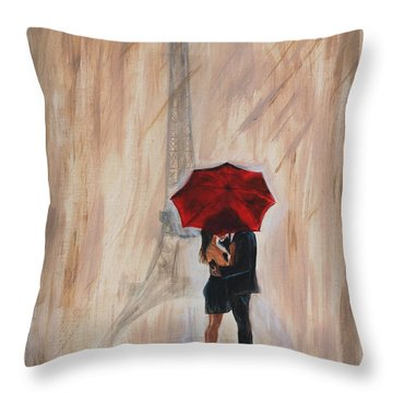 I'm Yours Throw Pillow by Leslie Allen