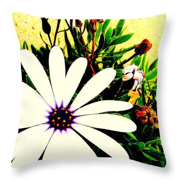 Throw Pillow featuring the photograph Imagination Growing by Faith Williams