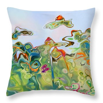 Imagine Af11 Throw Pillow by Variance Collections