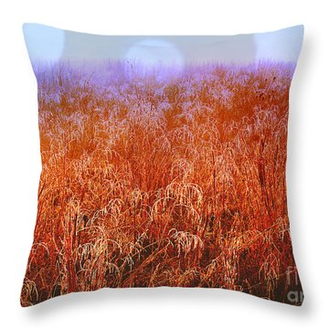 Imagine Throw Pillow by Carlee Ojeda