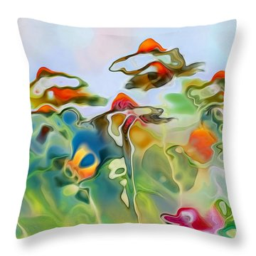 Imagine - Frc01v6 Throw Pillow by Variance Collections