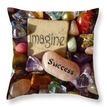 Imagine Success Throw Pillow