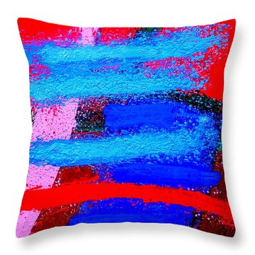 Imma   Iv Throw Pillow by John  Nolan