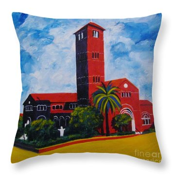 Immaculate Conception Cathedral Throw Pillow