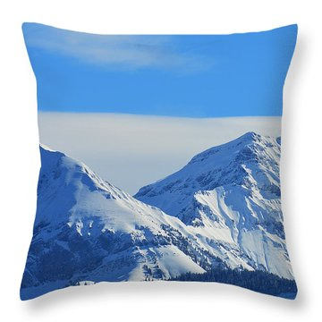 Immaculate Throw Pillow by Felicia Tica