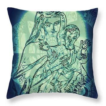 Immanuel God With Us Throw Pillow
