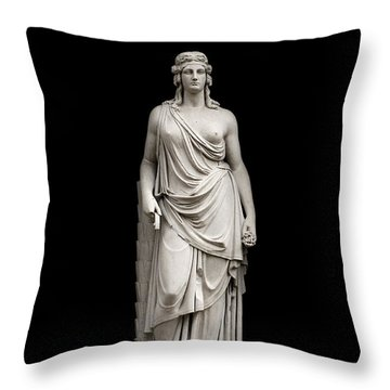 Throw Pillow featuring the photograph Immortality by Fabrizio Troiani