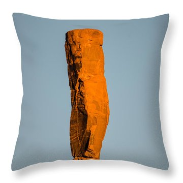 iMoon Throw Pillow by Jeff Kolker