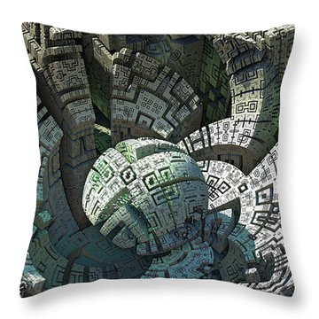 Impact Throw Pillow by Kevin Trow